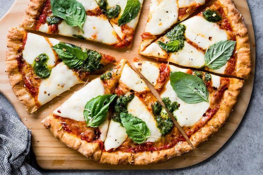 Zabpehelyből készült pizza - Alakformáló receptek