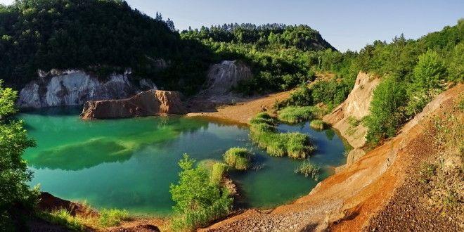 Bakancslistás helyek - Rudabányai bányató