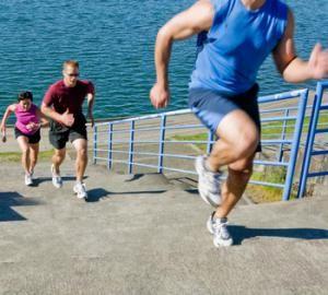 Lépcsős edzés